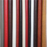 Cuir synthétique de polyuréthane élevé d'Abrasion-Résistance pour le matériau de sofa de meubles