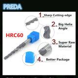 HRC55 입히는 테이퍼 CNC 대패 비트 탄화물 CNC
