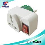 La UE del adaptador de enchufe de la CA de la potencia tapa (pH3-1382)