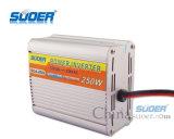 Suoer 12V 250W fora do inversor da potência do carro da grade com soquete dobro (SDA-250A)
