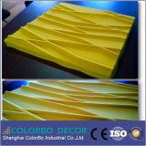 Acoustic eficaz Polyester Fiber 3D Type Panels