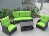 Sofa en osier H-Extérieur de jardin de rotin de meubles
