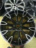 Покрасьте/, котор колесо подвергли механической обработке/кромы отделкой и 5 отверстиями для Audi