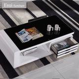 Glass Tempered con il tavolino da salotto del MDF New Design Plus Drawer