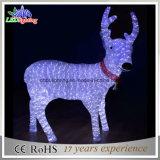 Heißes ren-Motiv-Licht-im Freienweihnachtslicht des Verkaufs-3D Acryl
