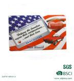 Magneti su ordine del frigorifero della bandierina degli S.U.A. del regalo di promozione