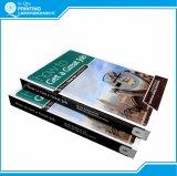 Wedding 광택 있는 아트지 두꺼운 표지의 책 책 인쇄