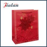 Der gedruckte Weihnachtsbaum passen Firmenzeichen-Süßigkeit-Papierbeutel an