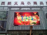 Imperméabiliser le signe extérieur de l'affichage à LED d'intense luminosité de publicité d'IMMERSION LED (P10 P16)