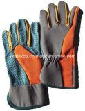 Поставленная точки PVC Перчатк-Поставленная точки перчатка Перчатк-Сада Перчатк-Дешевая