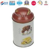 Ovalgeschnittener Geschenk-Zinn-Kasten mit Bohnen-Paket (JY-WD-2015112713)