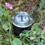 3W LED Outdoor Groundの庭Path Floor Underground Buried Yard Lamp Spot Landscape Light IP67 Waterproof