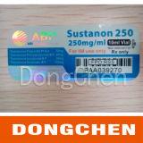 Il marchio ed il formato su ordinazione di vendita caldi di alta qualità hanno stampato il contrassegno olografico impermeabile della fiala 10ml