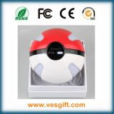 Pokemon portátil Magic Ball 10000mAh cargador con iluminación LED