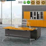Fsc (HY-H60-0103)에 의하여 똑바른 Edge Bright Yellow Bamboo Office Executive Desk Certificated
