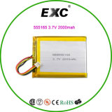 Batterie de Rechangeble de polymère de batterie au lithium pour gagner une admiration élevée