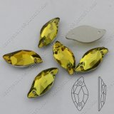 Back piano Sew su Stone Rhinestone per Crystal Jewelry Accessories