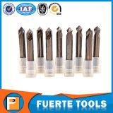 Morceau de foret de cannelures du carbure de tungstène 2 pour l'aluminium