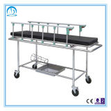 Krankenhauspatient-Bahre-Laufkatze des Edelstahl-Ido-6002