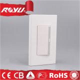 1 갱 3 방법 전기 벽 스위치 제조