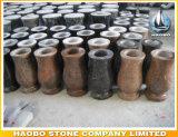Pot van de Bloem van de Vaas van het Gebruik van de Begraafplaats van het graniet de In het groot