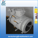 12 polegadas Class 600 Rtj Extremidade A105 Dib Anti-Static Fire Safe Fully Welded Pipeline Ball Valves com Gear Box