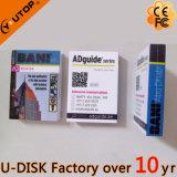 lecteur flash USB polychrome fait sur commande de livre du logo 1-128GB (YT-1142L)