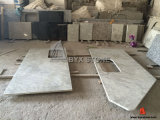 Andromeda White Granite Kitchen Countertop per Hotel Project