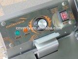 Sartén profunda eléctrica del tanque del doble 8.5L 2 de la cesta comercial del tanque 2 (HY-902)