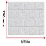 PE van de Baksteen van de Decoratie van de Muur van de Zaal van het behang 3D Stickers van de Muur van het Schuim