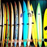 Glace de fibre de tissu de fibre de verre de chaîne de la clarté 6oz pour la planche de surfing