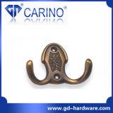 Les meubles en métal accrochent le crochet en alliage de zinc pour la série de crochet de vêtements (GDC5001)