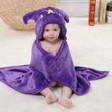 極度の柔らかい新生の赤ん坊のフランネルの毛布/3D立体マントの天秤座