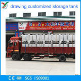 De Vierkante die Tank van uitstekende kwaliteit van de Opslag in Foshan wordt gemaakt