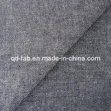 Tela de Jean da tela do algodão/linho/sarja de Nimes do Spandex (QF13-0733)