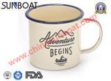 Кружка/чашка прочной эмали сь с Собственн-Конструированными логосами