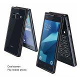 Telefono mobile del doppio dello schermo da 4.0 pollici telefono di vibrazione