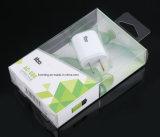 Auto caixa desobstruída inferior do empacotamento plástico para auscultadores de Bluetooth