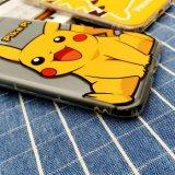 Le cas de téléphone mobile de TPU avec Pokemon de peinture gravé en relief disparaissent