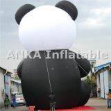 Caractère courant gonflable d'ours de panda d'Attactive Kongfu