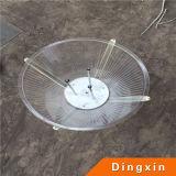 4m DC12V 30W Solar LED Garten Lamp mit CER