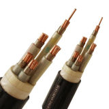 Cabo distribuidor de corrente isolado PVC, cabo de fio elétrico da bainha do PVC