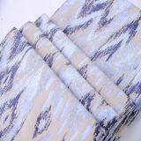 Nouveau tissu de jacquard de polyester de colorant du filé 2015 pour le sofa et le rideau