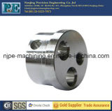 Pièces de usinage d'axe moleté en aluminium d'OEM