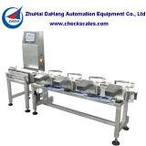 Classificador automático da balança de controlo para peixes de mar e marisco