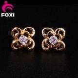 イヤリングの宝石類2016の最も新しいデザイン優雅なShinneyの真鍮の宝石類のイヤリング