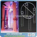 A tubulação 2016 ajustável telescópica por atacado e drapeja jogos do contexto do casamento para o casamento (RKPD01)