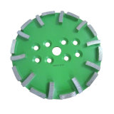 250mm Good Quality Segmented Diamond Cutting Cup Wheel pour Concrete