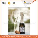 Diseño personalizado de fábrica etiqueta de la botella de alcohol