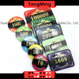 High-Grade Bronzing Casino Set Chip 760PCS (YM-SCMA003)
